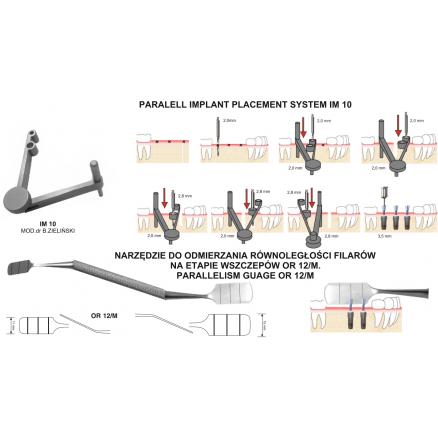 Імплантологічний інструментарій Chirmed