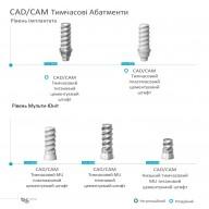 CAD/CAM Тимчасові абатменти