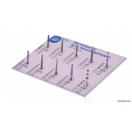 Набір  MicroVision для препарування Назарія Михайлюка (MicroVision Set TD2194) KOMET DENTAL