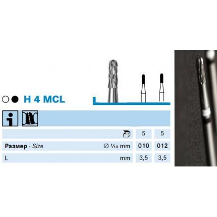Бори для розрізання метало-керамічних коронок (H4MCL) KOMET DENTAL