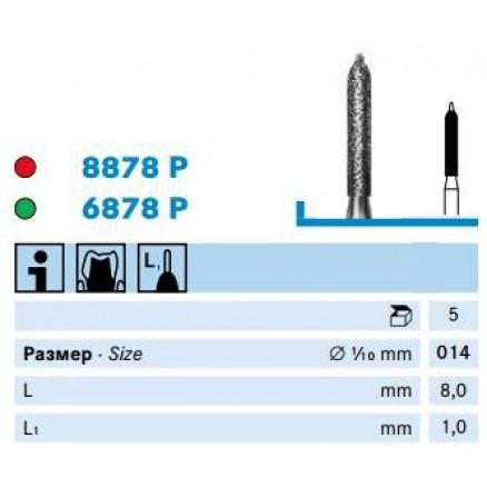 Циліндричний бор (8878P, 6878P) KOMET DENTAL