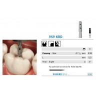 Бор для Inlay - Overlay 959KRD, 8959KR