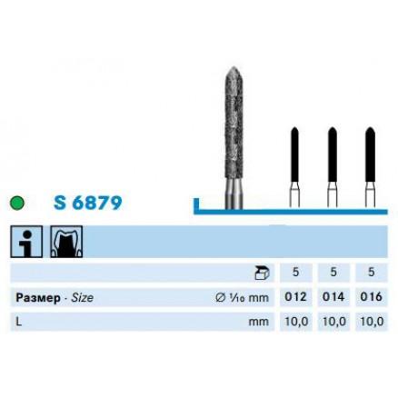 Циліндричний бор  (S6879) KOMET DENTAL