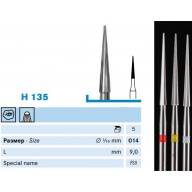 Піковидний карбідний бор (H135)
