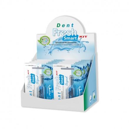 Ополіскувач для догляду за ротовою порожниною Dent Fresh Smart Kit 150 мл Cerkamed
