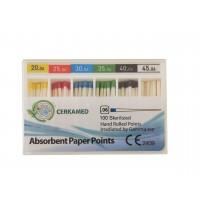Абсорбуючі паперові штифти 06 конус, 60 шт.