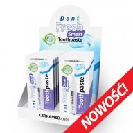 Dent Fresh Smart Toothpaste 14х2мл - гелева зубна паста у компактній одноразовій упаковці