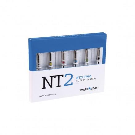 Endostar NT2 NiTi Two Rotary System ( Ендостар НТ2 НіТі Ту Ротарі Систем ) Poldent
