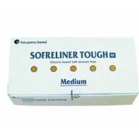 SOFRELINER TOUGH M ( medium )   ( Софрелайнер М підкладочний матеріал для інтраорального і лабораторного перебазування знімних протезів середньої м'якості )