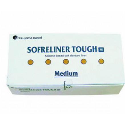 SOFRELINER TOUGH M ( medium )   ( Софрелайнер М підкладочний матеріал для інтраорального і лабораторного перебазування знімних протезів середньої м'якості ) TOKUYAMA DENTAL